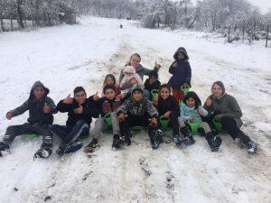 Pak sneeuw Roemenië - maart 2020